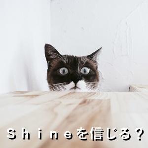 Shineを信じる?
