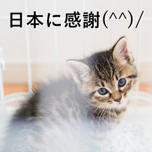 日本に感謝(^^)/