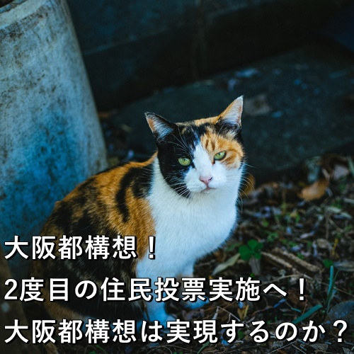 大阪都構想!2度目の住民投票実施へ!大阪都構想は実現するのか?